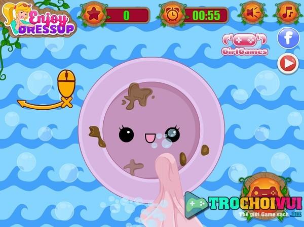game Cong chua toc may don nha hinh anh 3