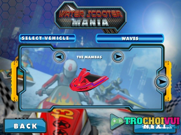game Dua moto nuoc 3D cho iphone android pc