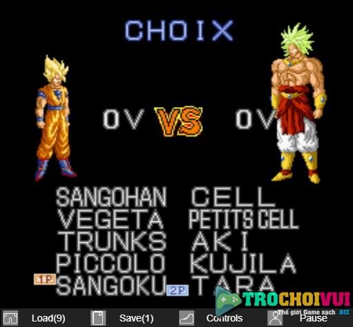 game Goku battle super saiyan danh nhau
