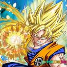 Goku battle super saiyan