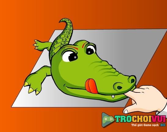 game Kham rang ca sau dentist crocodile