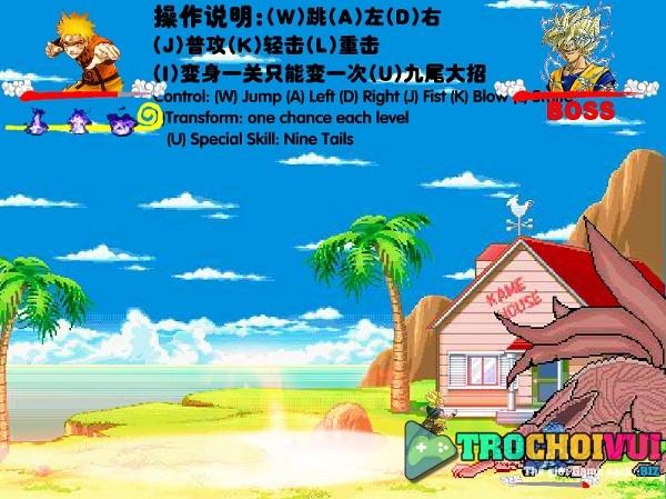 game Naruto dai chien Goku hinh anh 2