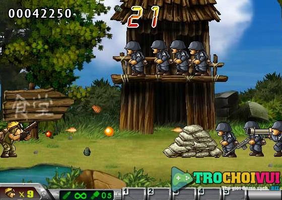 game Rambo lun 4 hack bat tu mang
