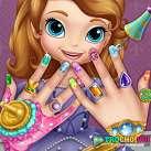 Sơn móng tay cho công chúa