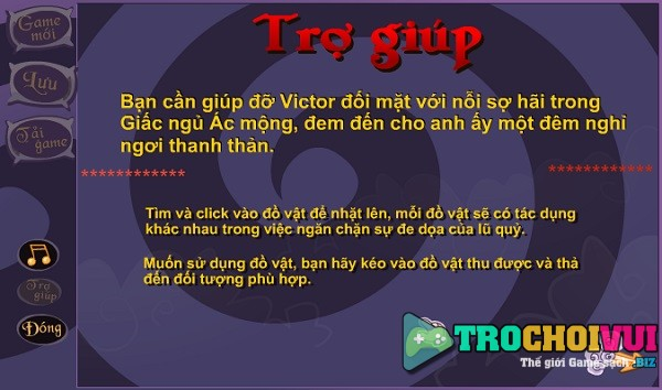 game Thoat khoi ac mong 5 khong hoi ket