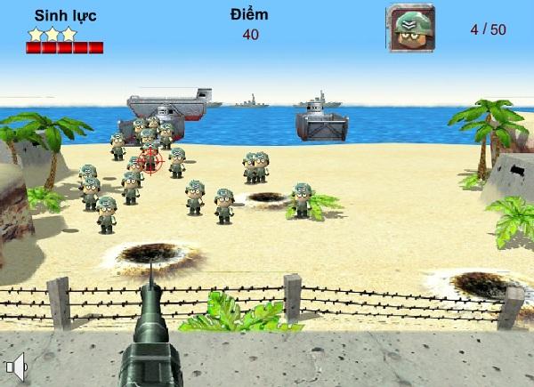 game Bao ve bo bien online offline mien phi