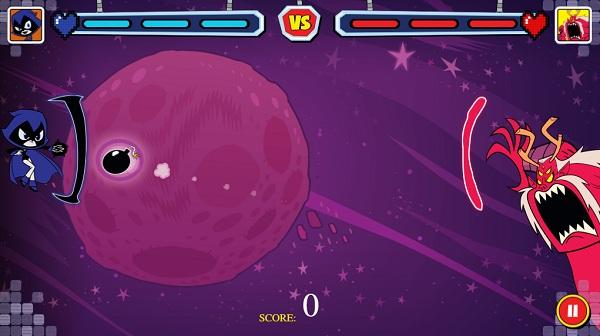 game Biet doi thieu nien titan choi game online