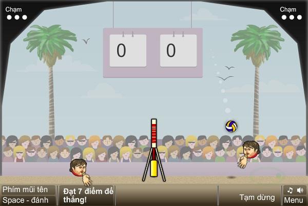 game Bong chuyen dau to online offline cho pc