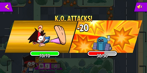 game K.O lam anh hung ok ko lets be heroes