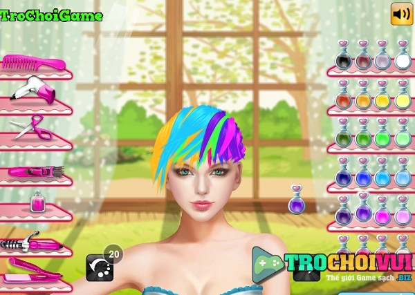 game Lam toc cho ca si taylor swift