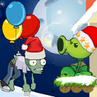 Plants vs zombies giáng sinh