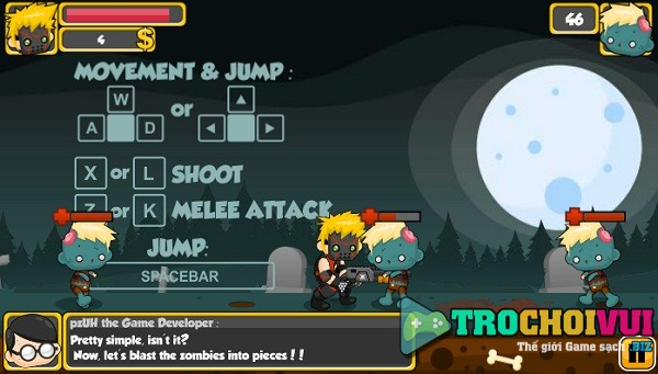 game Shotgun vs Zombies online y8 24h