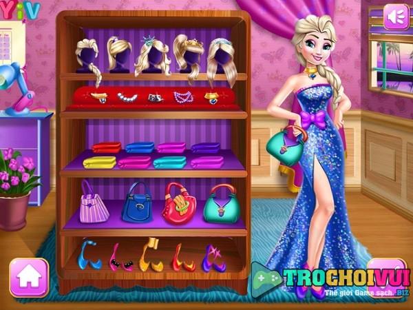 game Thoi trang cong chua Disney princess