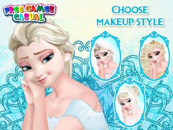 game Trang diem co dau Elsa hinh anh 1
