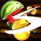 Chém hoa quả katana