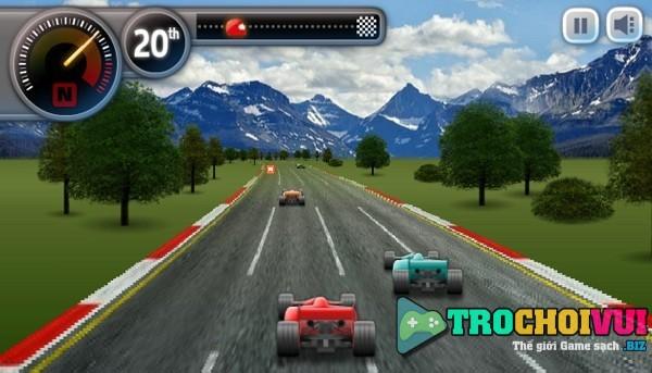 game Giai dua xe F1 mini