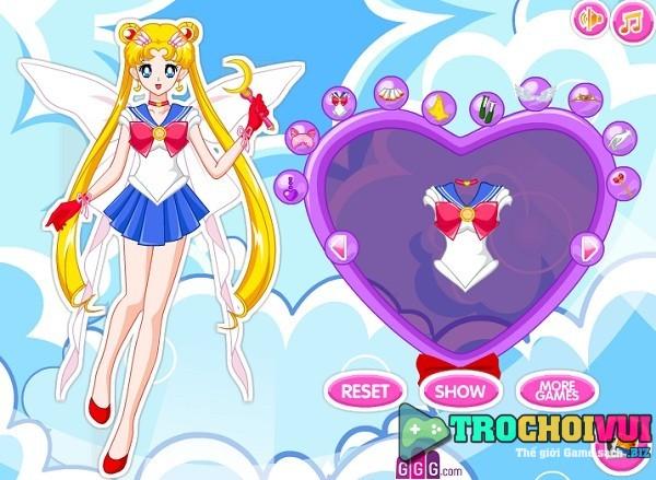 game Thuy thu mat trang sieu cap super sailor moon
