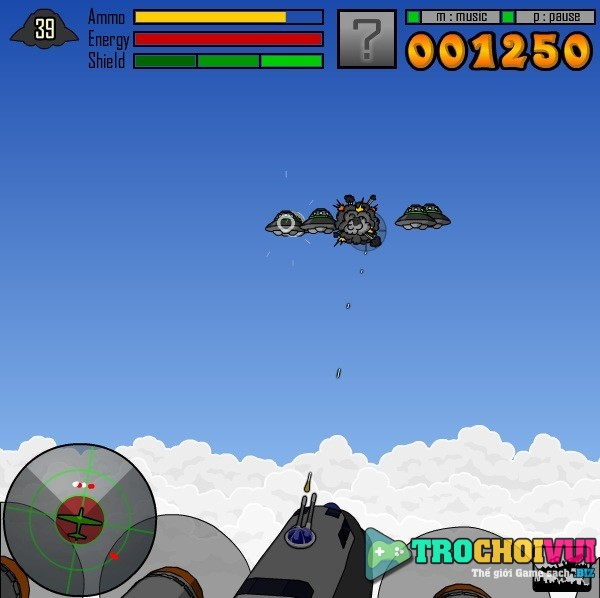 game Ban dia bay 3D online offline
