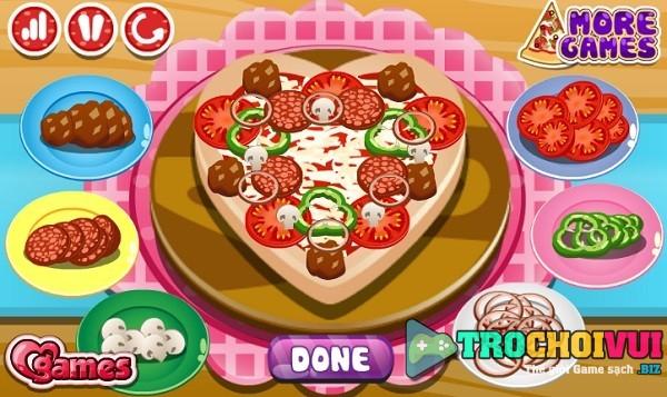 game Cong chua Ori lam banh pizza hinh anh 4