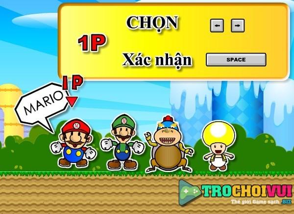 game Dat boom Mario mien phi cho may tinh pc