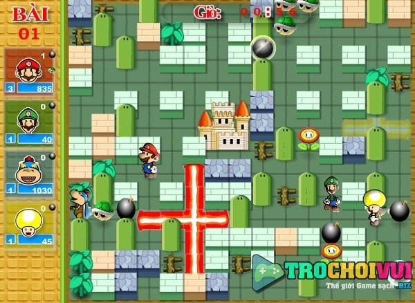 game Dat boom Mario moi nhat 24h y8 2018