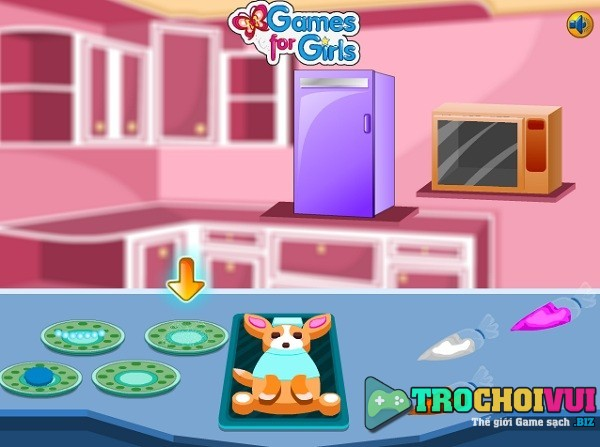 game Lam banh kem ngay tet