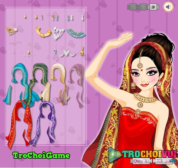 game Thoi trang co dau An Do hinh anh 3