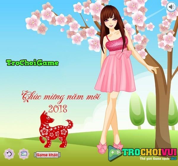 game Thoi trang tet nam moi 2018