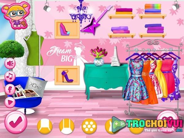 game Cua hang thoi trang cua Barbie hinh anh 1