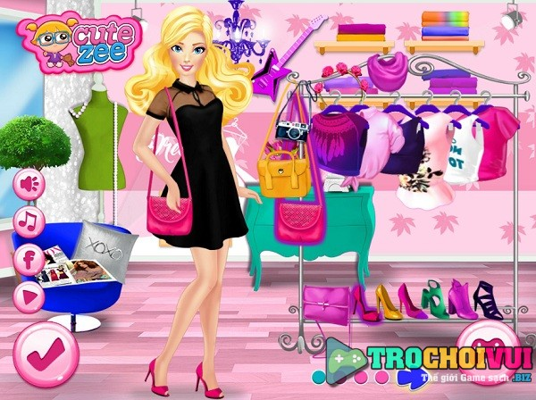 game Cua hang thoi trang cua Barbie hinh anh 3