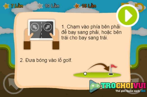game Danh golf kieu moi hay cho android iphone pc