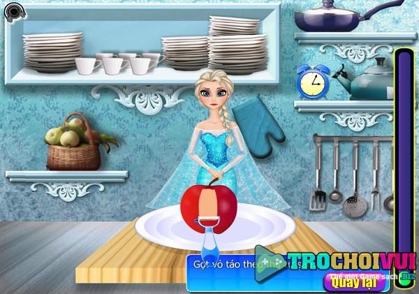game Elsa lam banh tao hinh anh 1
