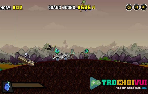 game Lai xe diet zombie 4 hinh anh 1
