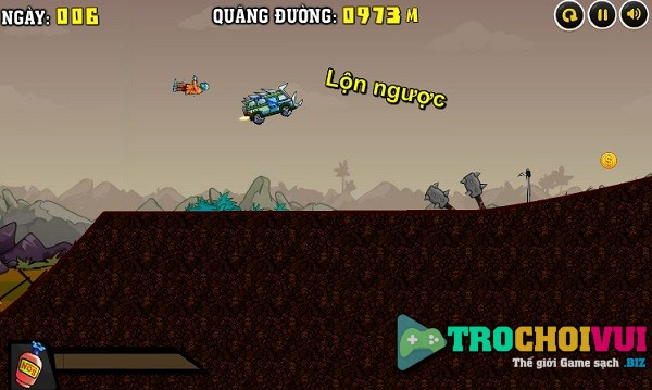 game Lai xe diet zombie 4 hinh anh 2