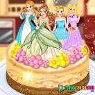 Làm bánh hình công chúa