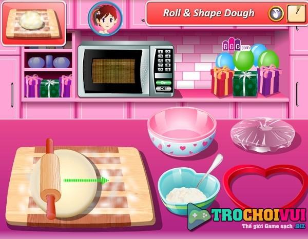 game Lam banh pizza tinh yeu hinh anh 3