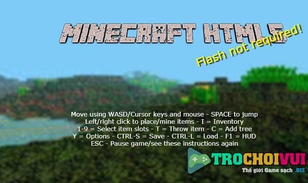 game Minecraft sinh ton online y8 24h