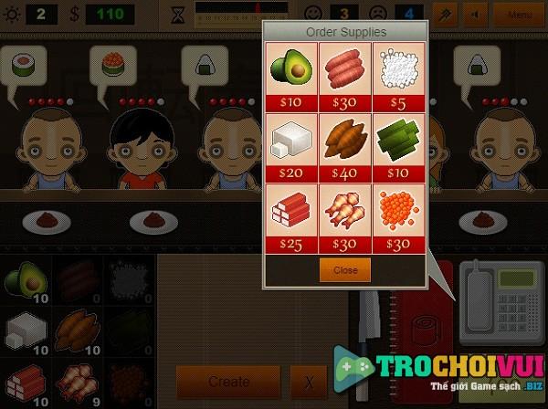 game Nha hang sushi 2 hinh anh 4