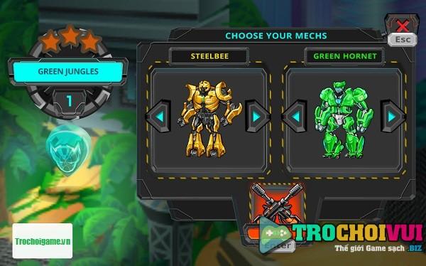 game Robot danh nhau online offline