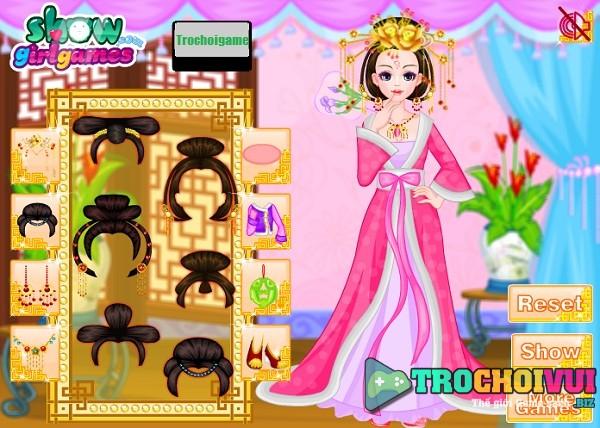 game Thoi trang Trung Quoc thoi nha duong thanh