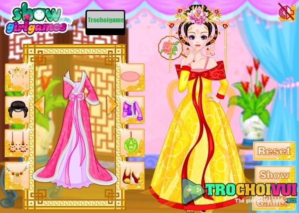 game Thoi trang Trung Quoc thoi xua mien phi