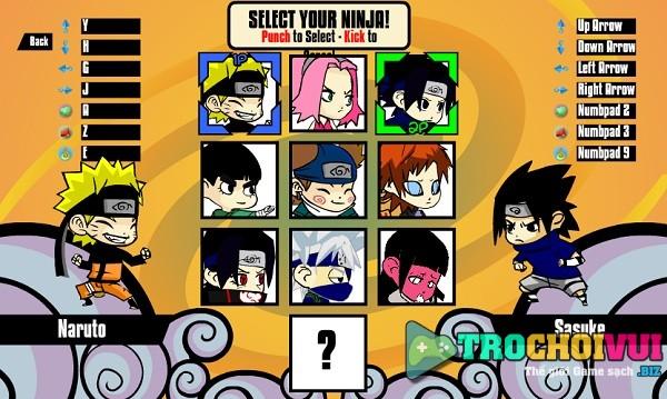 game Tran chien Naruto mini 2 hinh anh 1
