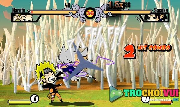 game Tran chien Naruto mini 2 hinh anh 3