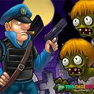 Cảnh sát bắn zombie