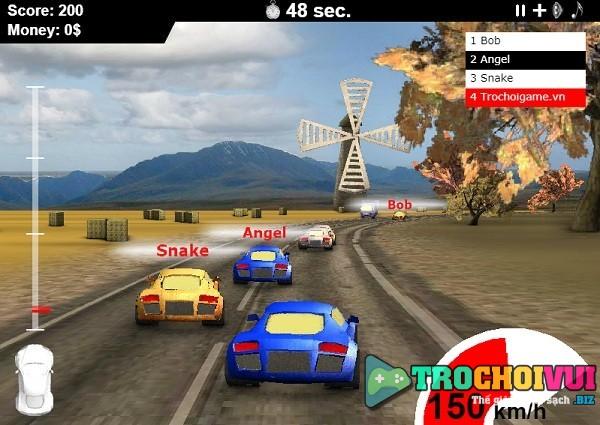 game Dua xe 4 banh 3d