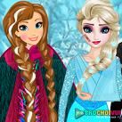 Elsa và Anna gặp nạn