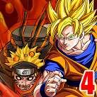 Goku đối đầu Naruto 4