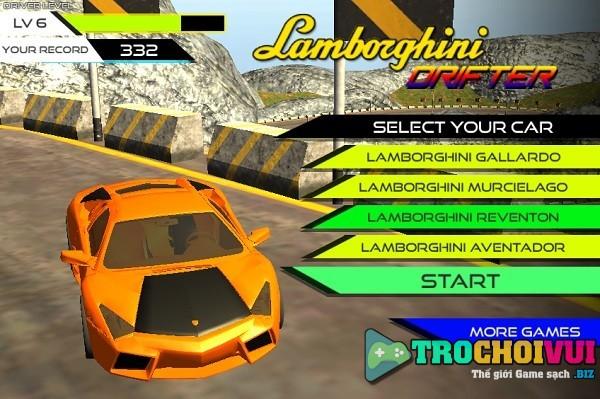 game Sieu xe Lamborghini 3d