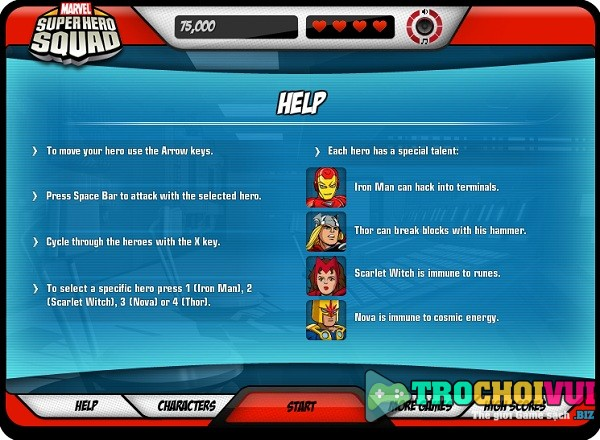 game Avengers Infinity War online