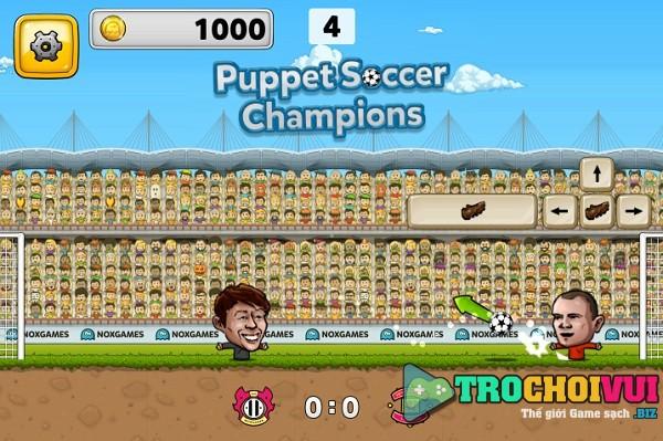 game Bong da Puppet soccer 2018
